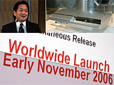 PS3 Early November 2006 Worldwide Launch cropped montage