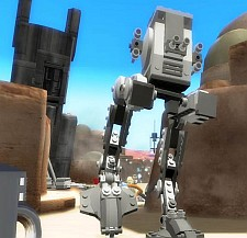 AT-ST walker from LEGO Star Wars II: The Original Trilogy