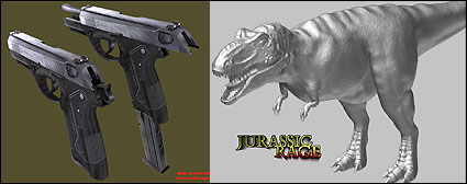 Jurassic Rage - an Unreal 2004 mod