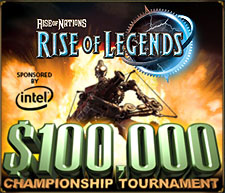Rise of Legends tourney