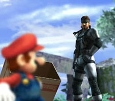 Super Smash Bros. Brawl (Snake)