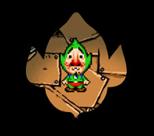 Tingle's Pink-colored Rupee Land