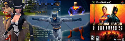 Metareview - Justice League Heroes