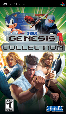PSP Sega Genesis Collection doesn't ship alongside PS2 version