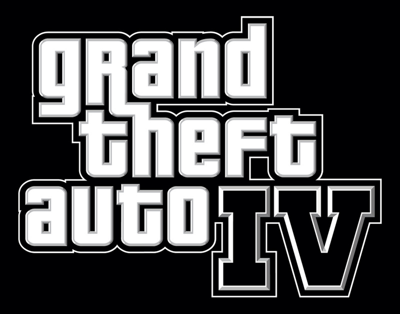 gta iv logo. Grand Theft Auto IV