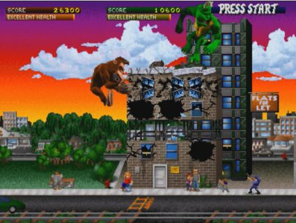 Rampage World Tour tears up the PS3 tonight | Joystiq