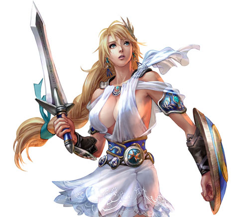 Soul Calibur IV's bountiful breasts bounce along as Namco Bandai recently ...
