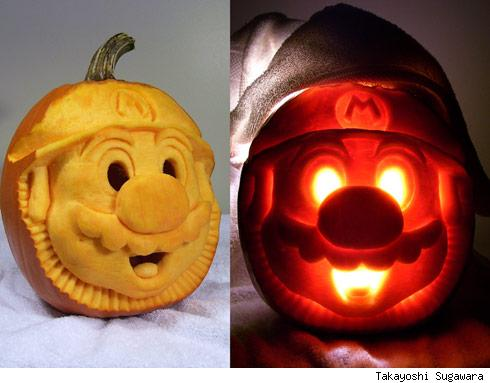 jpcc mario dual shot sugawara Pumpkin Carving Contest Winners