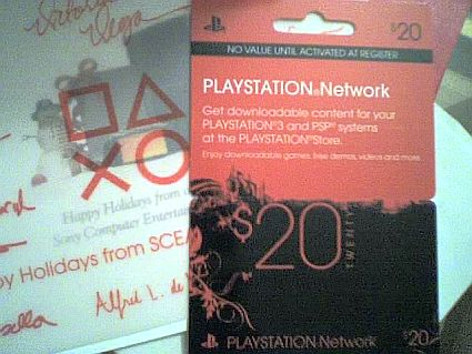PLAYSTATION Network cards coming to the US | Joystiq