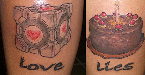 GameDaily has a gallery chock-full of fresh video game tattoos, one of the