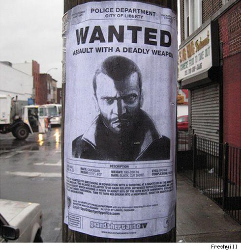 GTA IV ads go guerilla in New York City