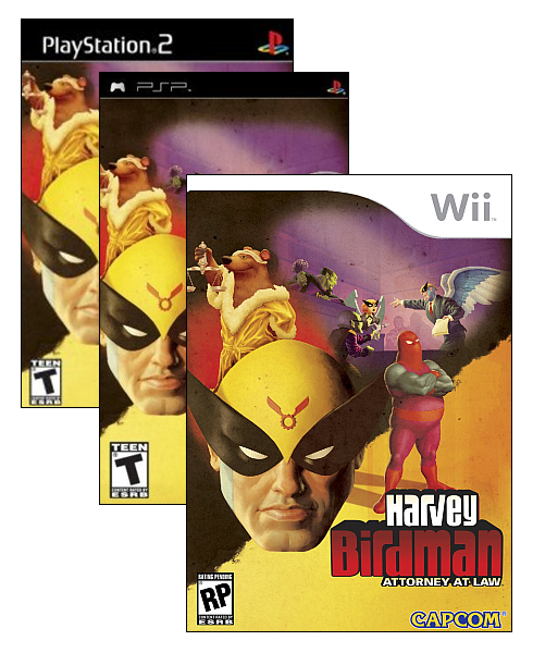 Harvey Birdman Attorney at Law Usa PS2DVD-GAMEOVER