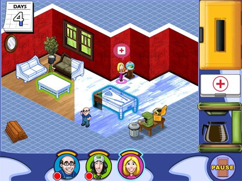 Casual decorating game home sweet home coming to wiiware for Room decorating games