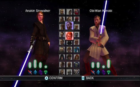 Joystiq hands-on: Star Wars: The Force Unleashed duel mode (Wii)