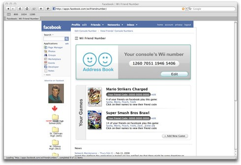 how to find number of facebook friends