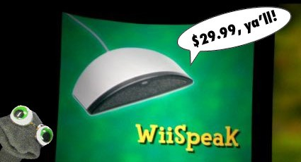 E308: WiiSpeak to be sold separately for $29.99