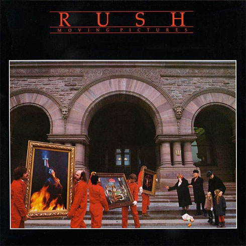 Rush moving pictures album