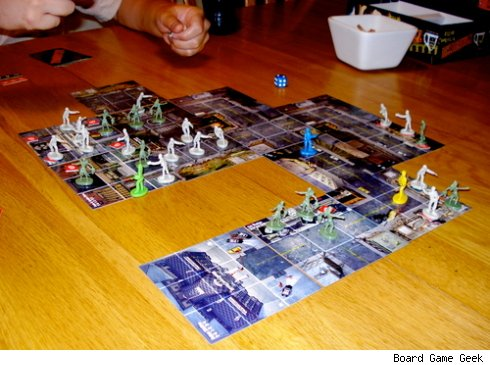 Zombies Tile Game Zombies Board Game to Eat