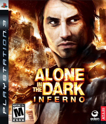 aloneinferno 114622 front Alone In The Dark Inferno USA [ PS3 ]
