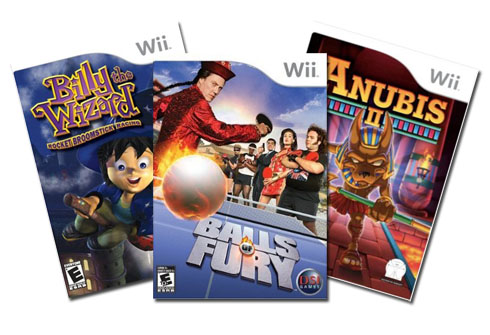 all 2008 wii games