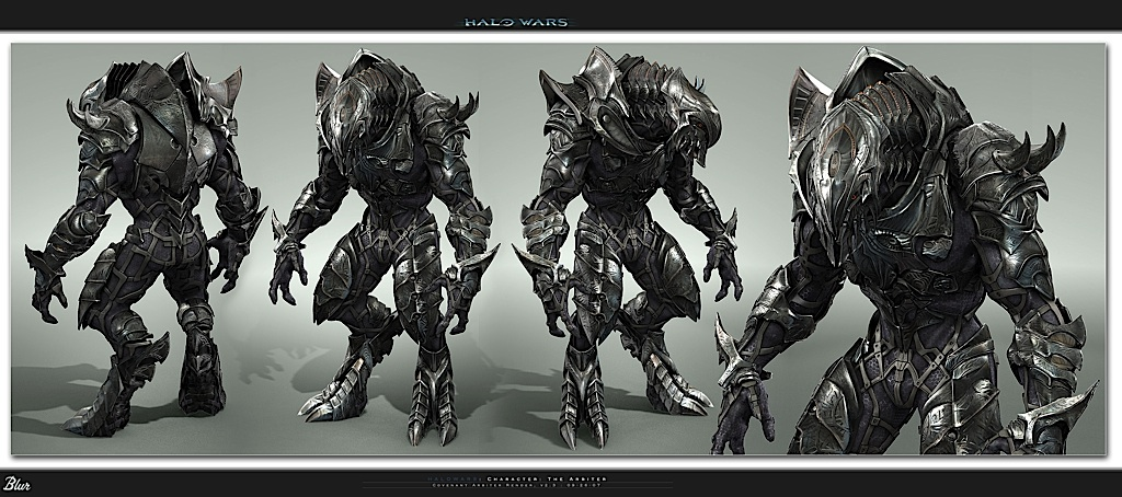 Halo Wars Elite Arbiter Knight