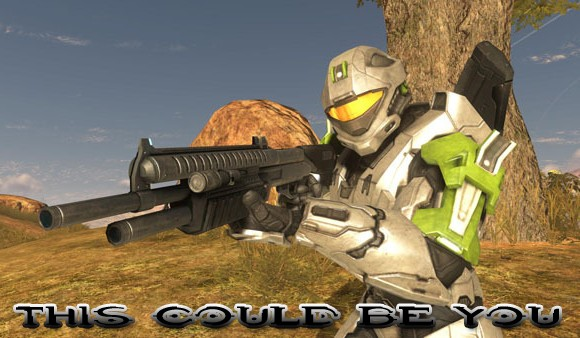 halo 3 armor. playing folks in Halo 3.