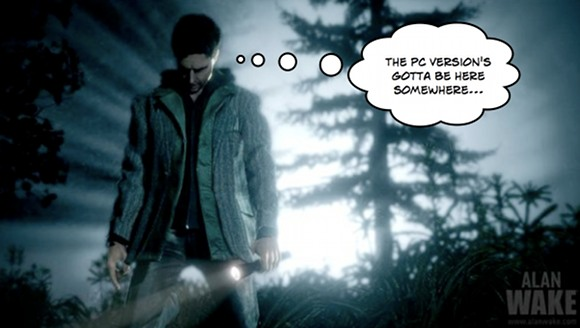 alanwake wherespc Alan Wake for PC Special Edition Revealed gadgetzz