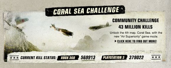 Start killin': Battlefield 1943 'Coral Sea' challenge has started Battlefield1943countfast
