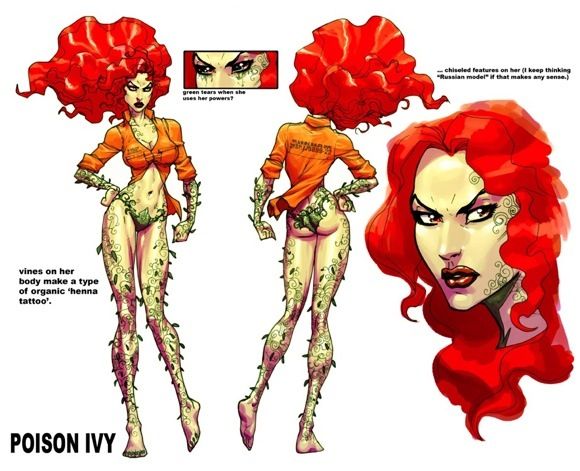 poison ivy villain. Batman villains featured