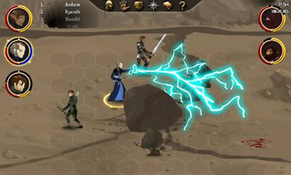 2D version of BioWare's upcoming RPG epic, Dragon Age: Origins.