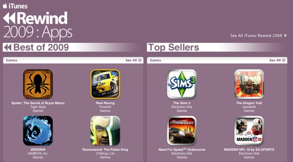top rated iphone games