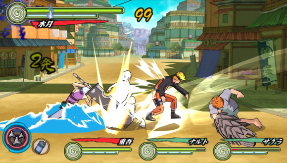 Naruto Shippuden: Ultimate Ninja Heroes 3 is coming to PSP and it continues