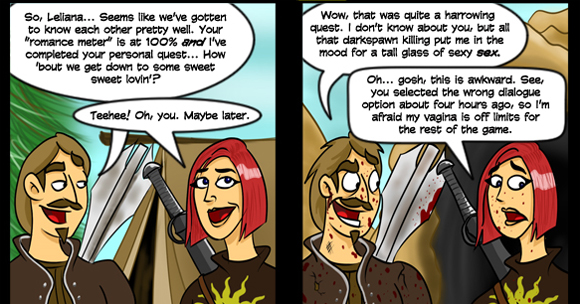but we're afraid we're putting a moratorium on Dragon Age comics from