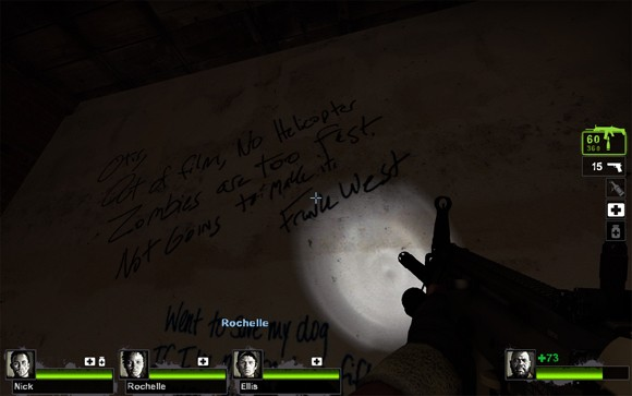 Frank West in Left 4 Dead 2 Easter Egg Cameo