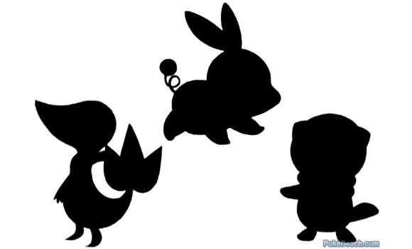 pokemon black and white tv show. Fansite Pokebeach shared this image of the silhouettes of Pokémon Black and
