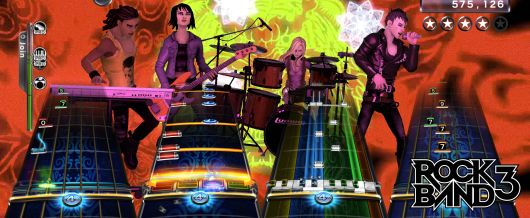 Rock Band 3 Gets Release Date