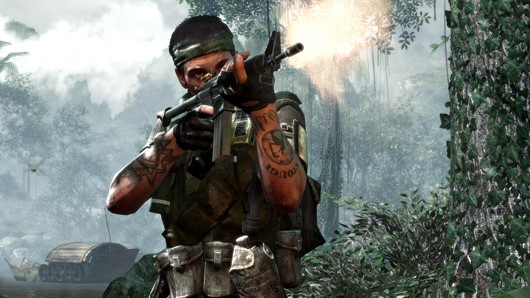 Okay, so only two of these new screenshots from Call of Duty: Black Ops are