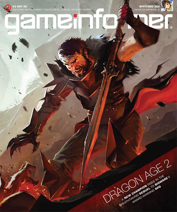 Dragon Age 2 cover