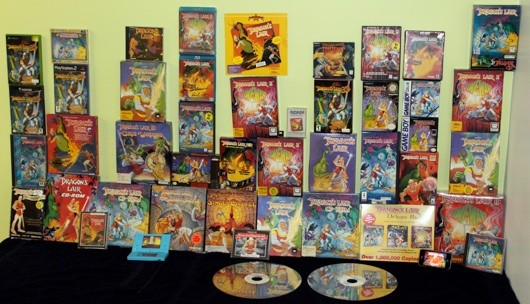 A daring Dragon's Lair game collection