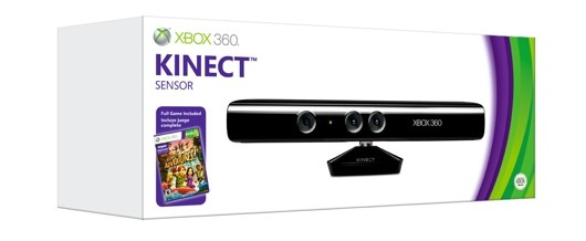 Kinect retail box