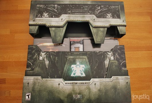 Starcraft 2 collector's edition