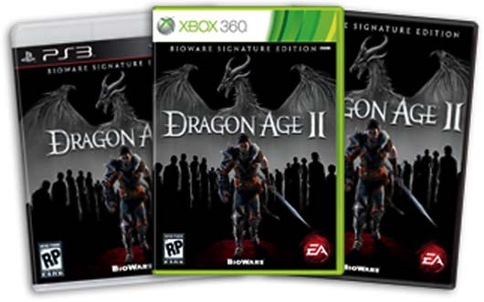 Dragon Age 2 pre-orders upgraded to 'BioWare Signature Edition'