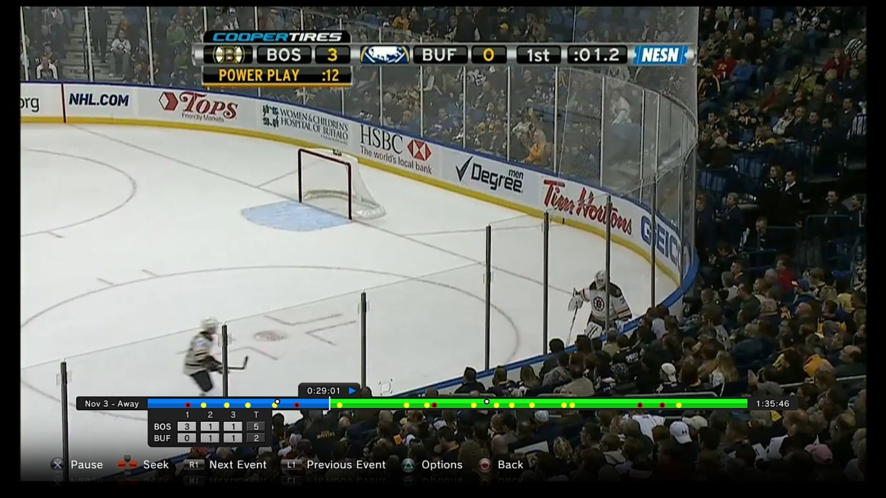 NHL GameCenter LIVE is the subscription service that offer different games (i.e Hockey, Basketball, Soccer, Baseball etc) and replays in HD quality for various devices. For the single price you can watch steaming video and on demand replay on your computer, smartphone and other devices.