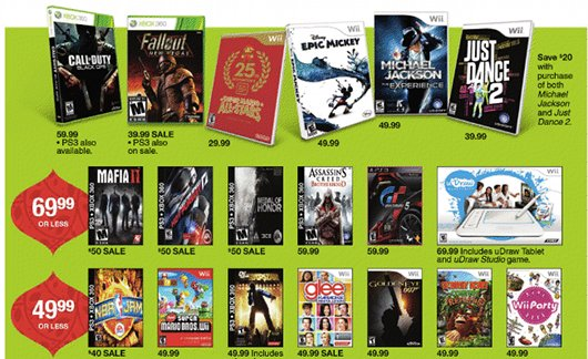 joystiq target deals 70 ea sports active 2 40 new vegas and more next week consolecity. Black Bedroom Furniture Sets. Home Design Ideas