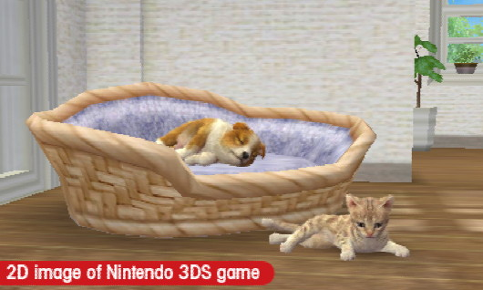 Nintendogs + Cats preview: pet-y differences