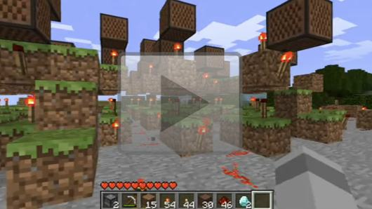 minecraft how to get a portal block