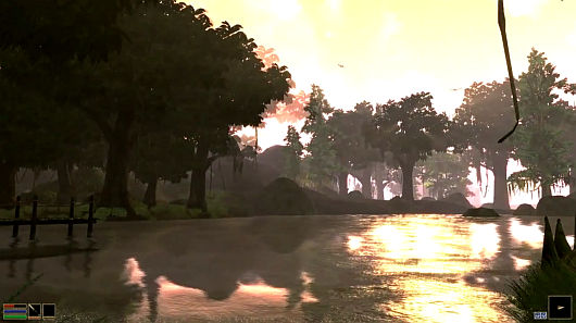 'Morrowind 2011' mod done, gorgeous, now available ...