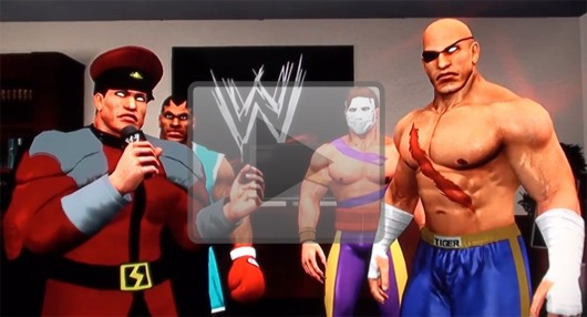 Street Fighter characters recreated in Smackdown vs. Raw 2011
