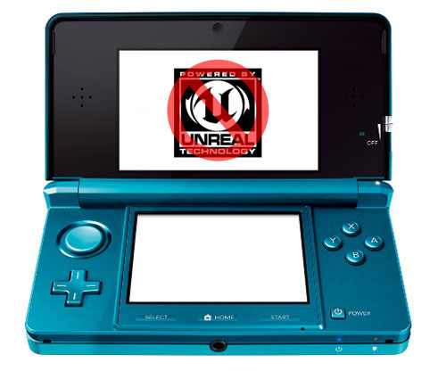 Unreal Engine on Nintendo 3DS
