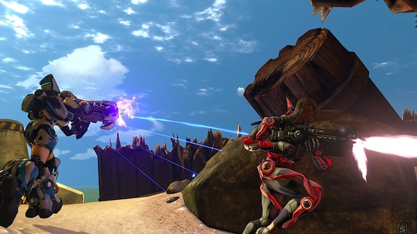FireFall multiplayer screen